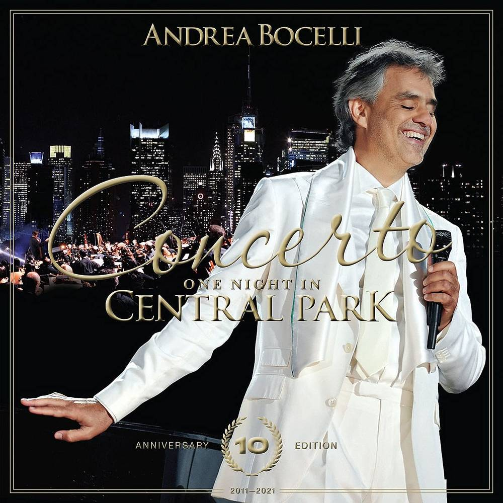 Andrea Bocelli - Concerto: One Night In Central Park - 10th Anniversary [DVD]