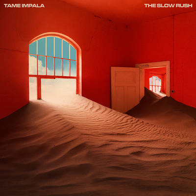 Tame Impala - The Slow Rush [Indie Exclusive Limited Edition Red/Light Blue 2LP]