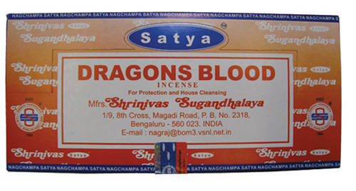 Nag Champa Incense Dragons Blood 15g