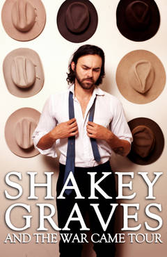 Enter To Win Tickets To Shakey Graves!