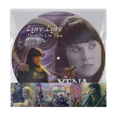 Xena: Warrior Princess - Lyre, Lyre Hearts On Fire [Picture Disc LP]
