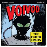 Voivod - The Outer Limits [Rocket Fire Red with Black Smoke LP]