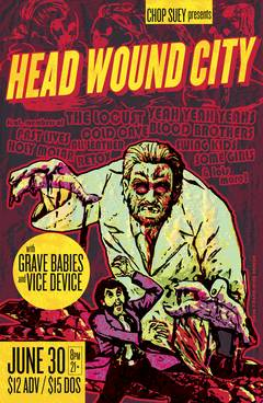 Win Tickets To Head Wound City!