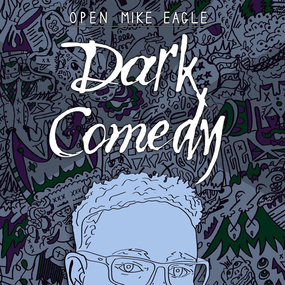 Open Mike Eagle - Dark Comedy [Indie Exclusive Limited Edition Iridescent Blue LP]