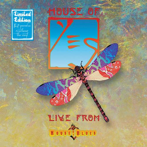 Yes - House Of Yes: Live From House Of Blues [Limited Edition Translucent Blue 3LP]