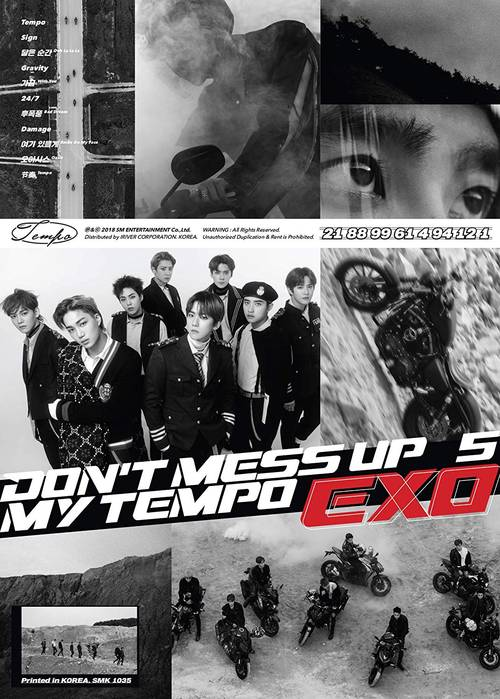EXO The 5th Album 'DON'T MESS UP MY TEMPO' (Allegro Ver.) [Import]