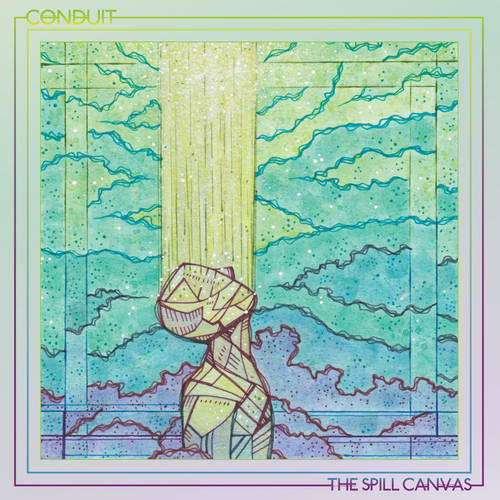 The Spill Canvas - Conduit [Indie Exclusive Limited Edition Half Purple/Half Clear w/ Heavy Pink Splatter LP]