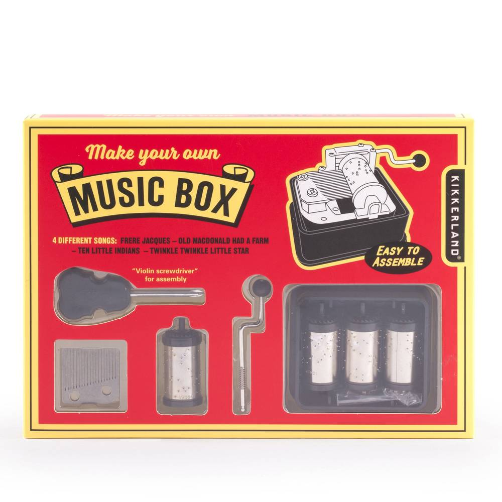 Toy - Make Your Own Music Box