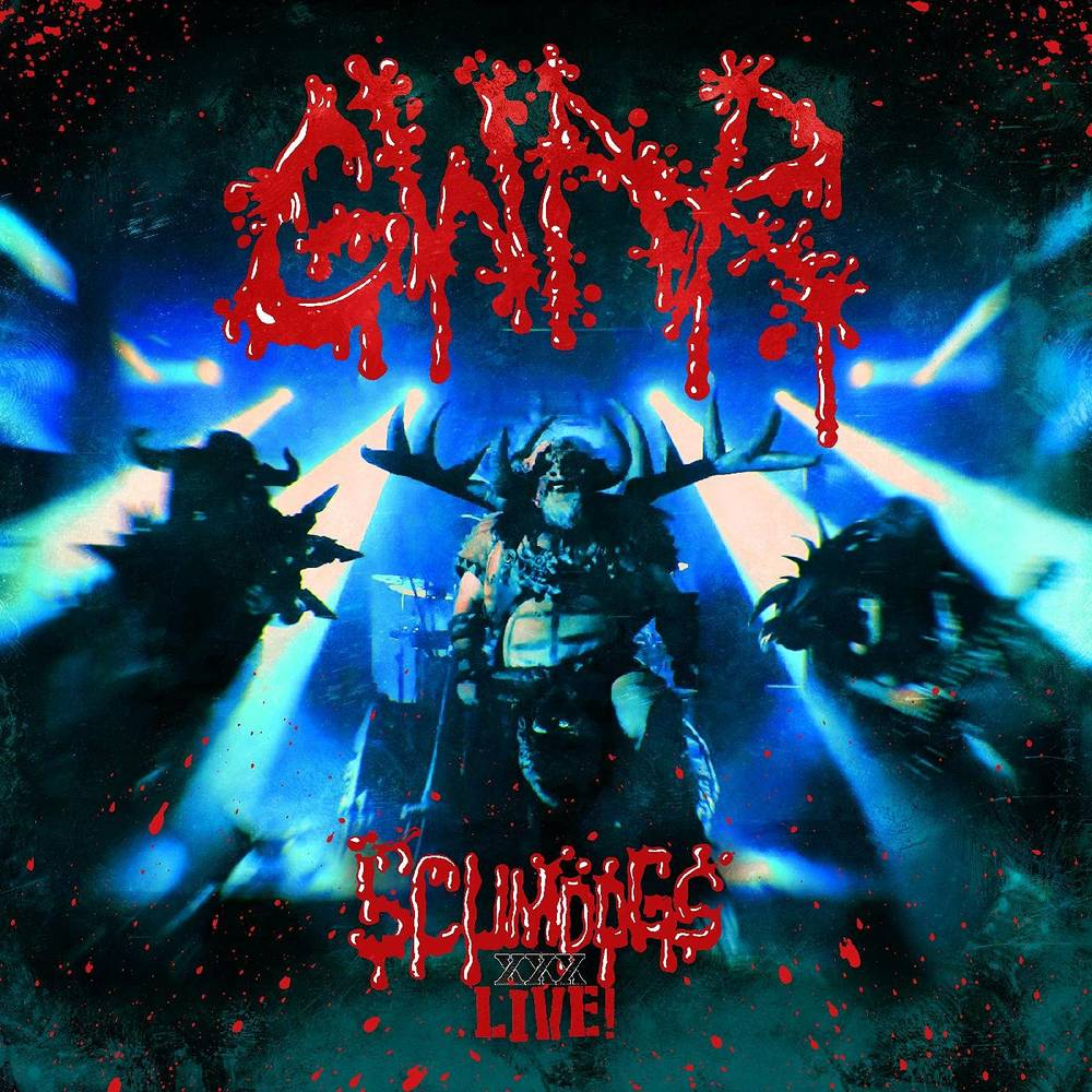 GWAR - Scumdogs XXX Live [Blue Marble 2LP]