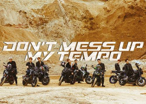 EXO The 5th Album 'DON'T MESS UP MY TEMPO' (Moderato Ver.) [Import]