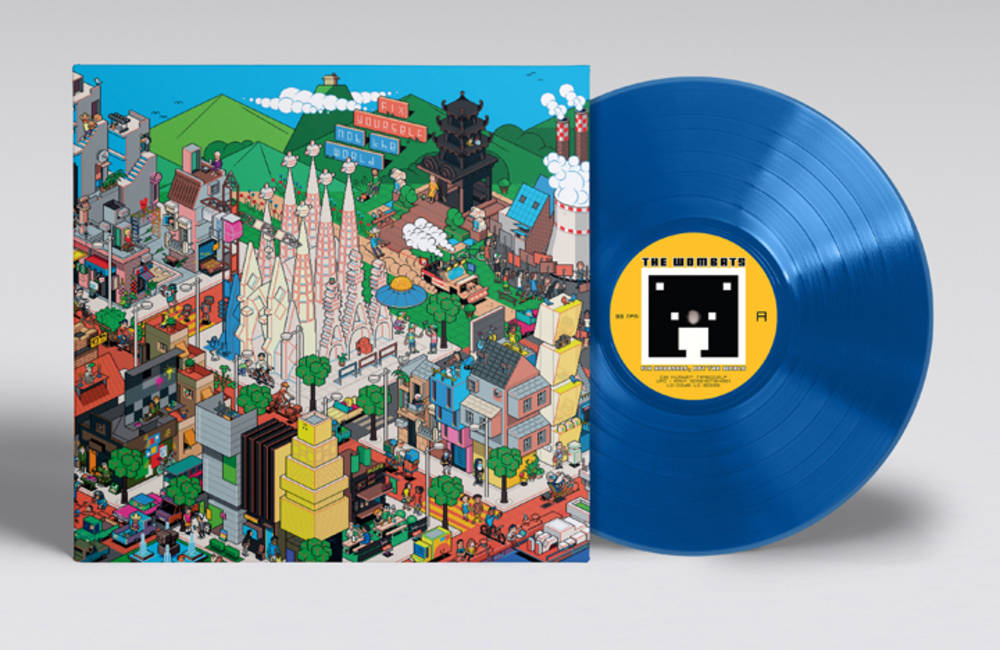 The Wombats - Fix Yourself, Not The World [EF Exclusive Blue Vinyl]