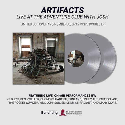 Live at the Adventure Club with Josh - Artifacts - Limited Edition Double Vinyl LP
