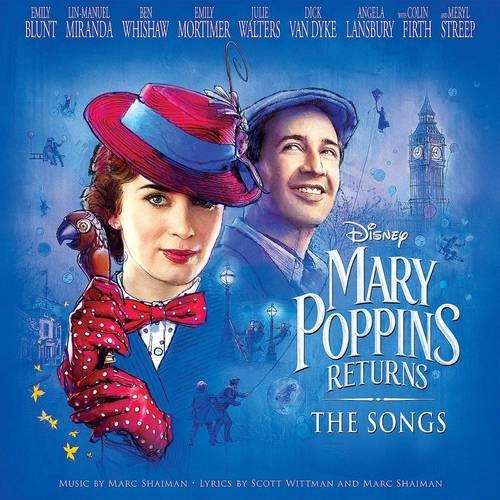 Mary Poppins Returns: The Songs [LP Soundtrack]