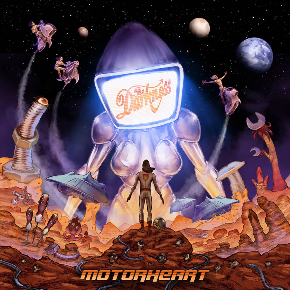 The Darkness - Motorheart [Indie Exclusive Limited Edition Clear LP]
