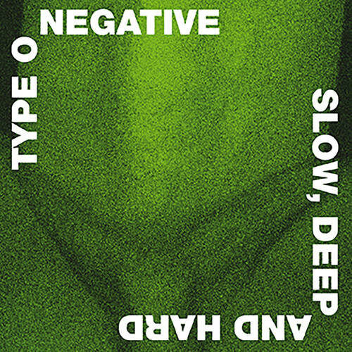 Type O Negative - Slow, Deep And Hard: 30th Anniversary Edition [Green/Black Mixed LP]