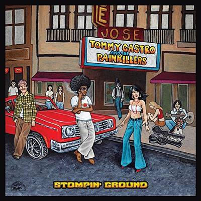 Tommy Castro - Stompin' Ground [LP]