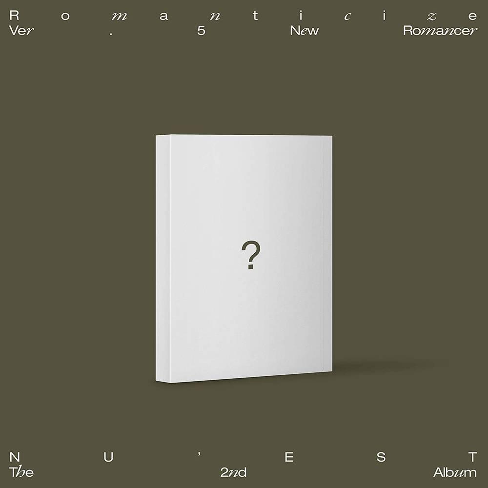 NU'EST - The 2nd Album 'Romanticize' [NEW ROMANCER Version]