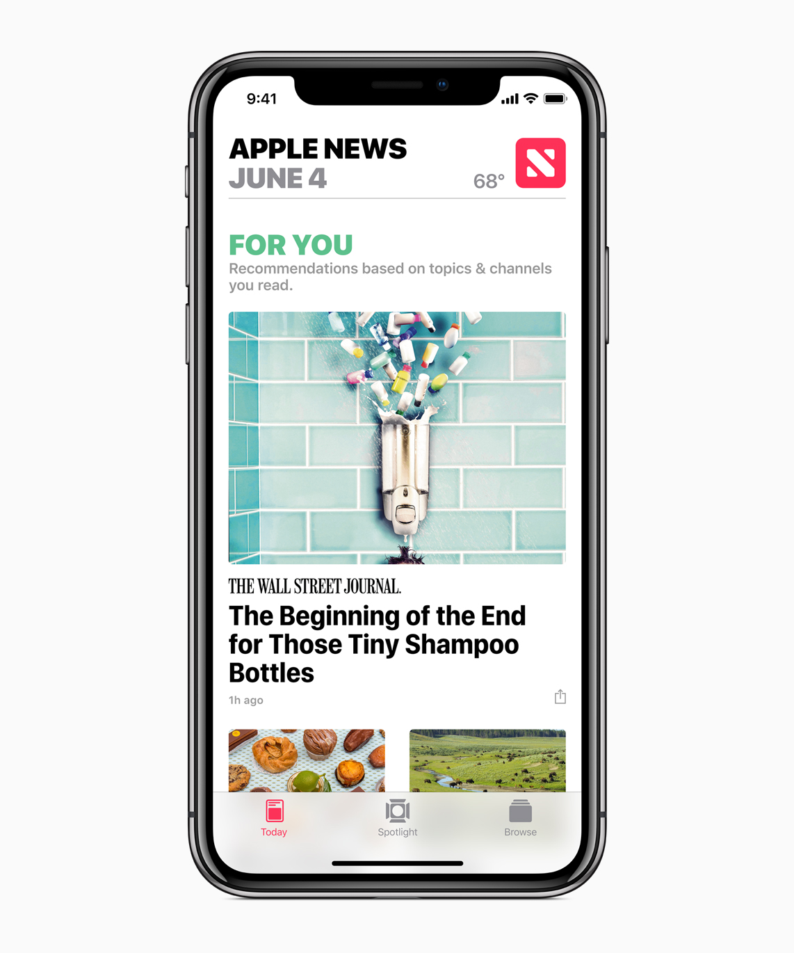 iOS 12 Apple News Update
