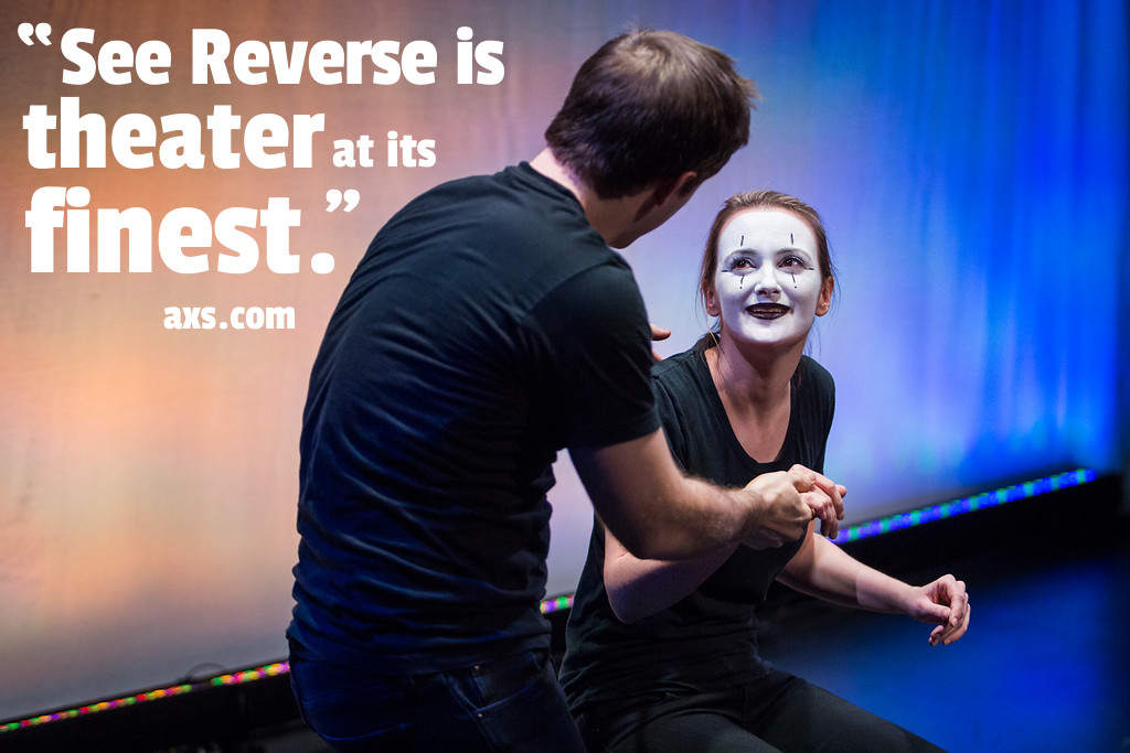 AXS Review of SEE REVERSE by Broken Box Mime Theater - Photo by Bjorn Bolinder
