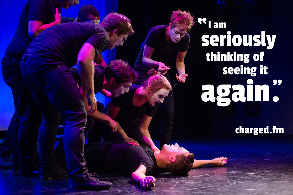 Charged.fm Review of SEE REVERSE by Broken Box Mime Theater - Photo by Bjorn Bolinder