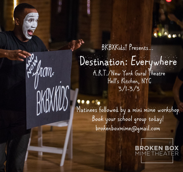 BKBX Kids Presents: Destination: Everywhere - Booking now!