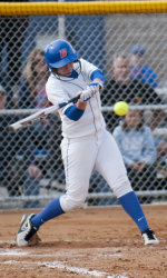Mackenzie Whyte had two hits including a homer