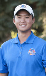 T.K. Kim has finished in the top 25 in each of the team's 10 tournaments this season.