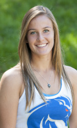 Sara Brown won her first two matches for Boise State.