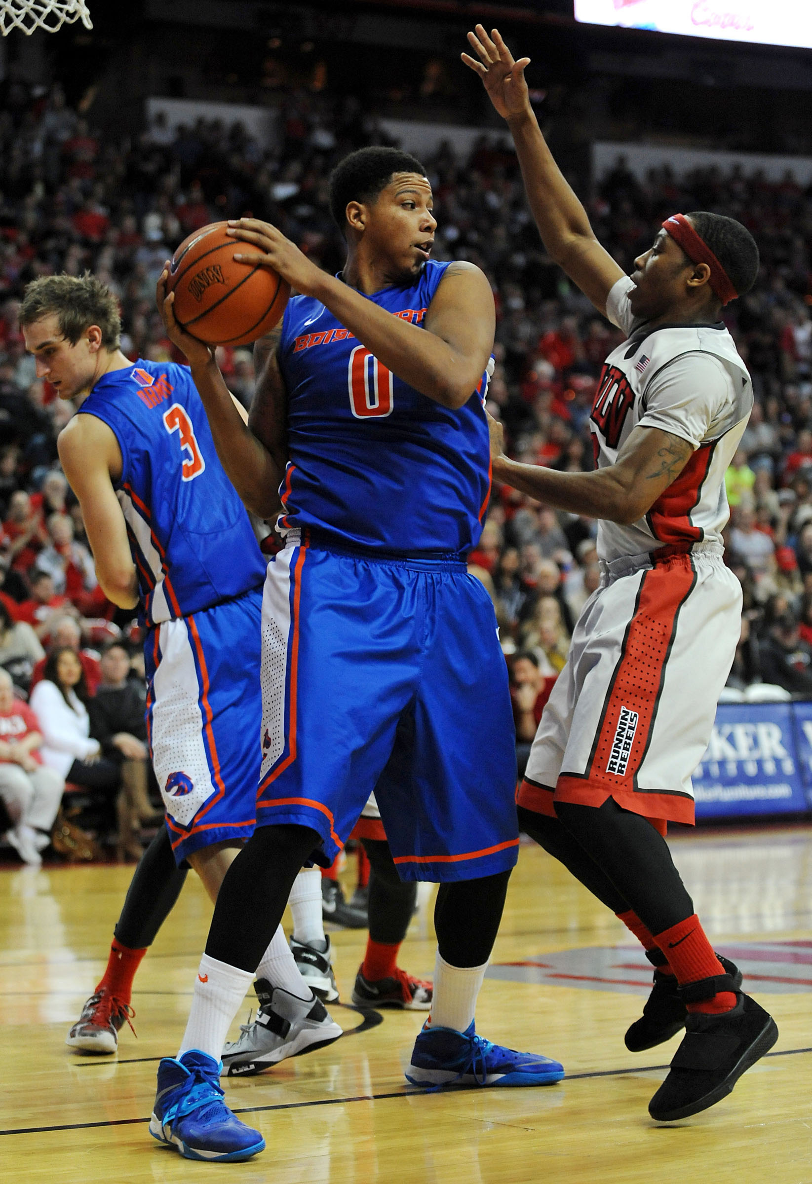 Senior forward Ryan Watkins posted 14 points and 12 rebounds in Saturday's win.