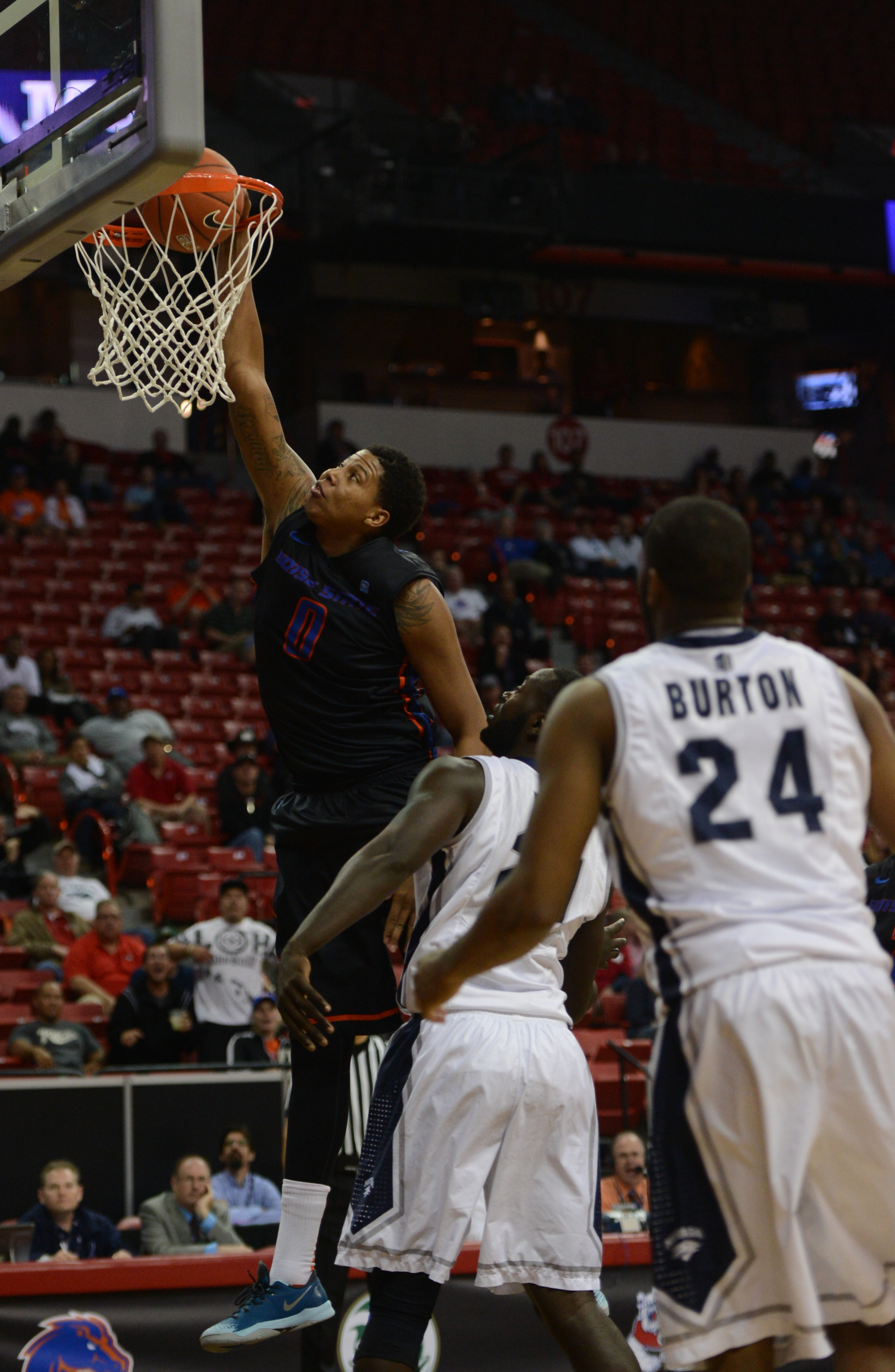 Ryan Watkins notched a double-double in Thursday's win.