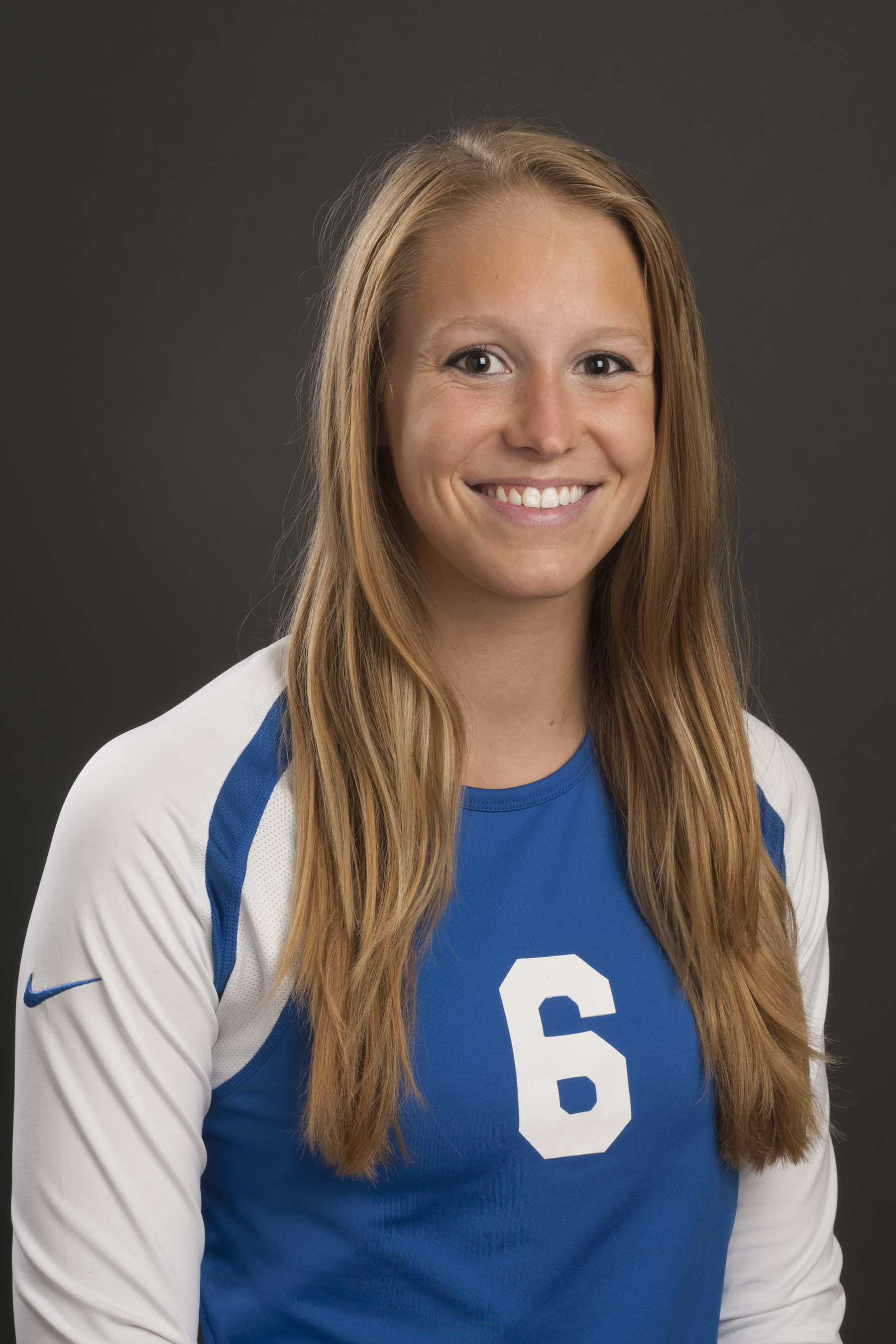 Laney Hayes, redshirt-freshman middle blocker.