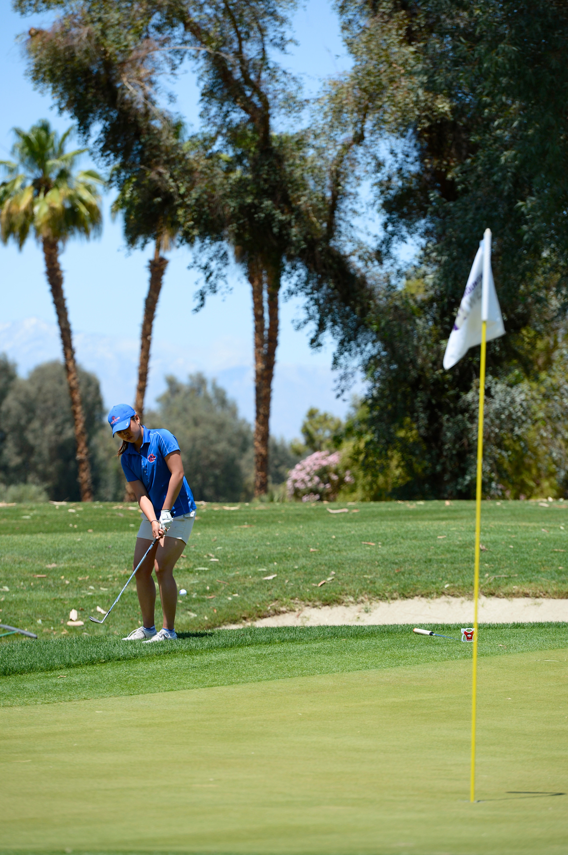 Genevieve Ling finished tied for 12th to lead Boise State.
