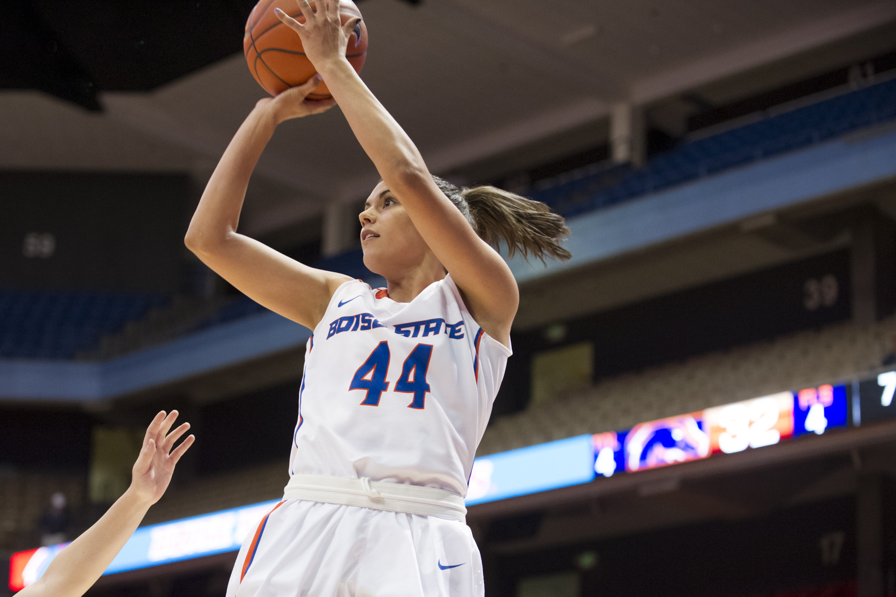 Brooke Pahukoa had a team-high 23 points in 25 minutes.