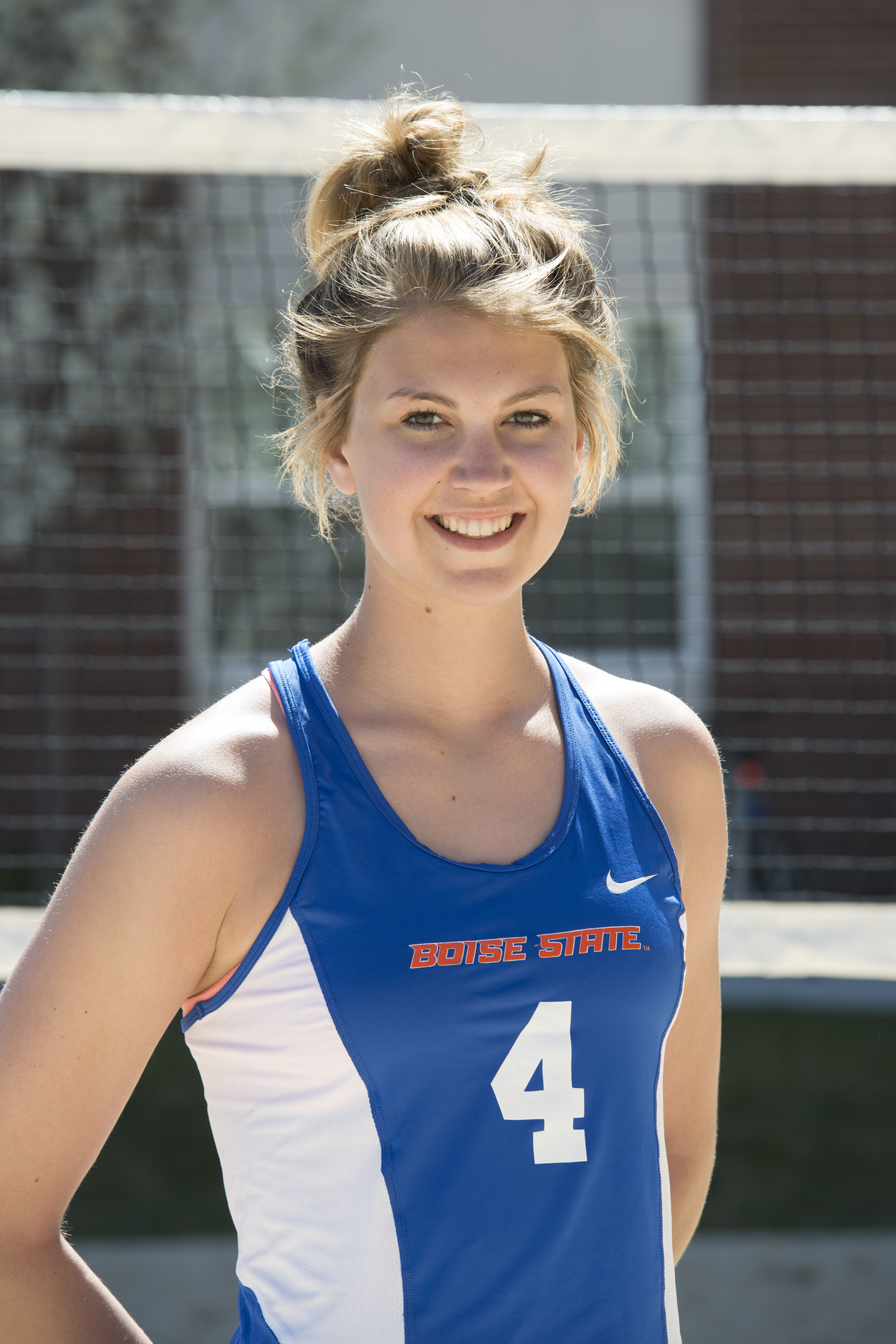 Kaitlyn Oliver was one of three Broncos named all-tournament last weekend in Tucson, Ariz.