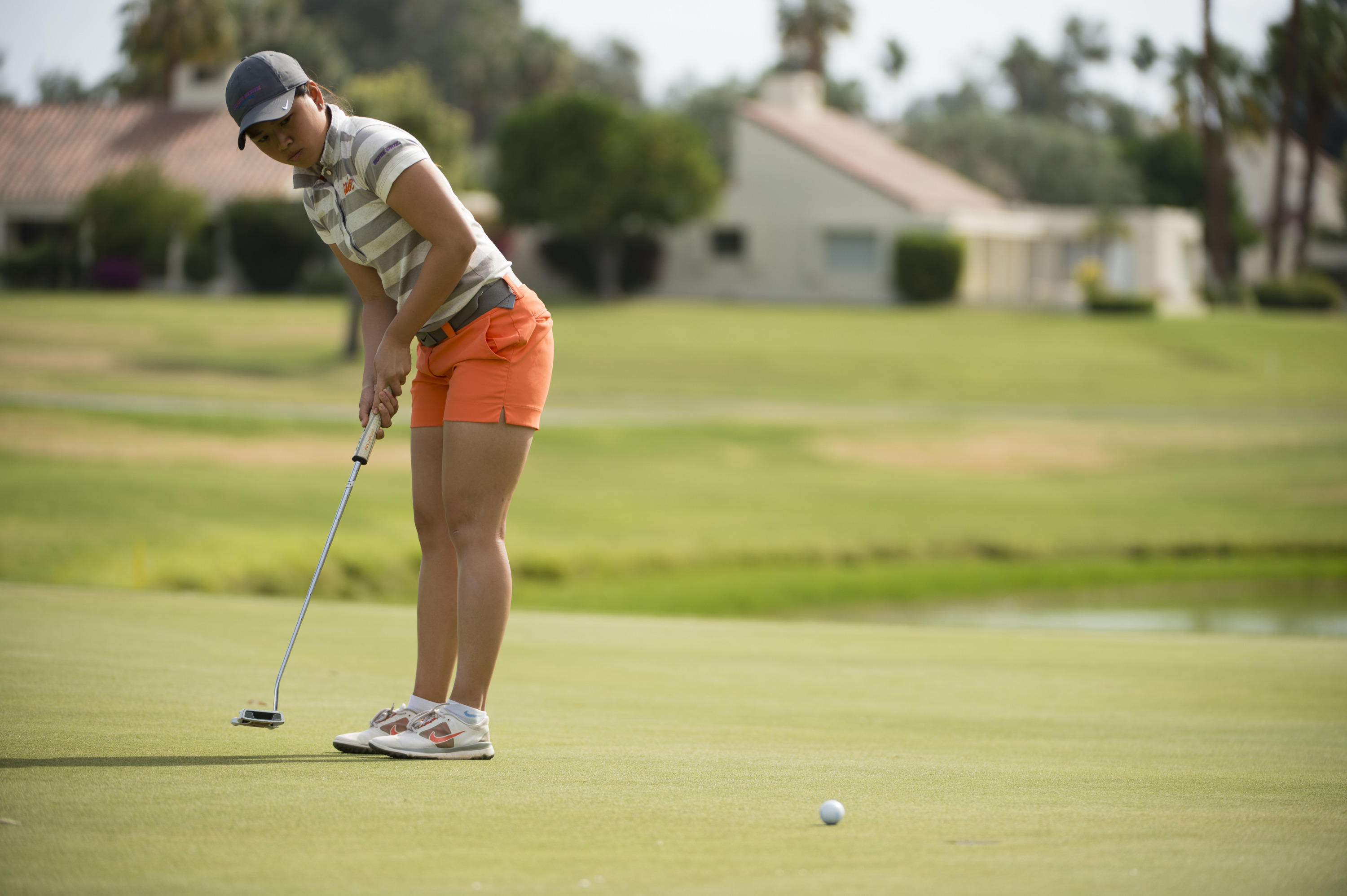Genevieve Ling is the first women's golfer since 2000 to compete at the NCAA Regional Championships.