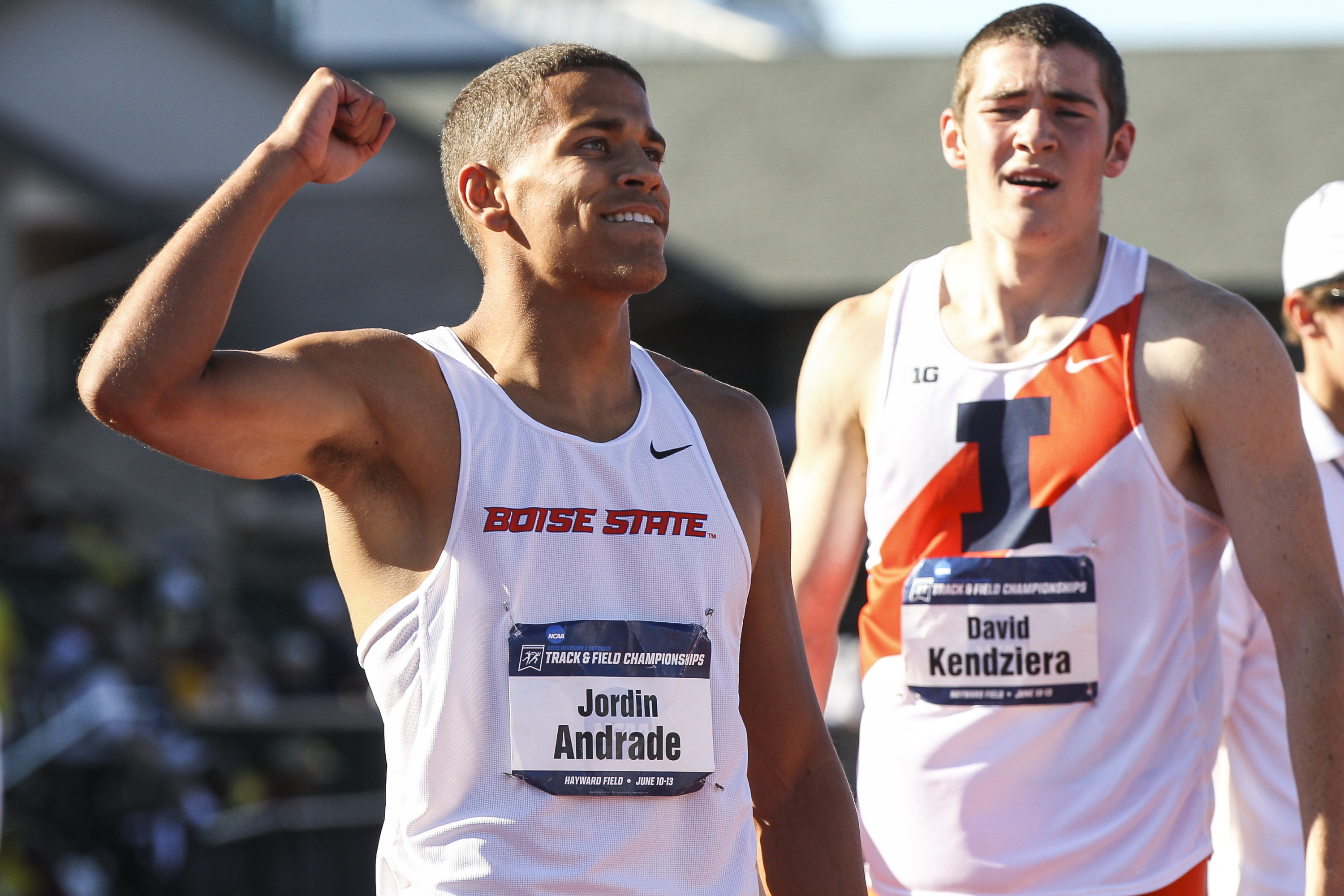 Andrade will look to improve on his 10th-place finish at last year's USA Outdoor Track and Field Championships
