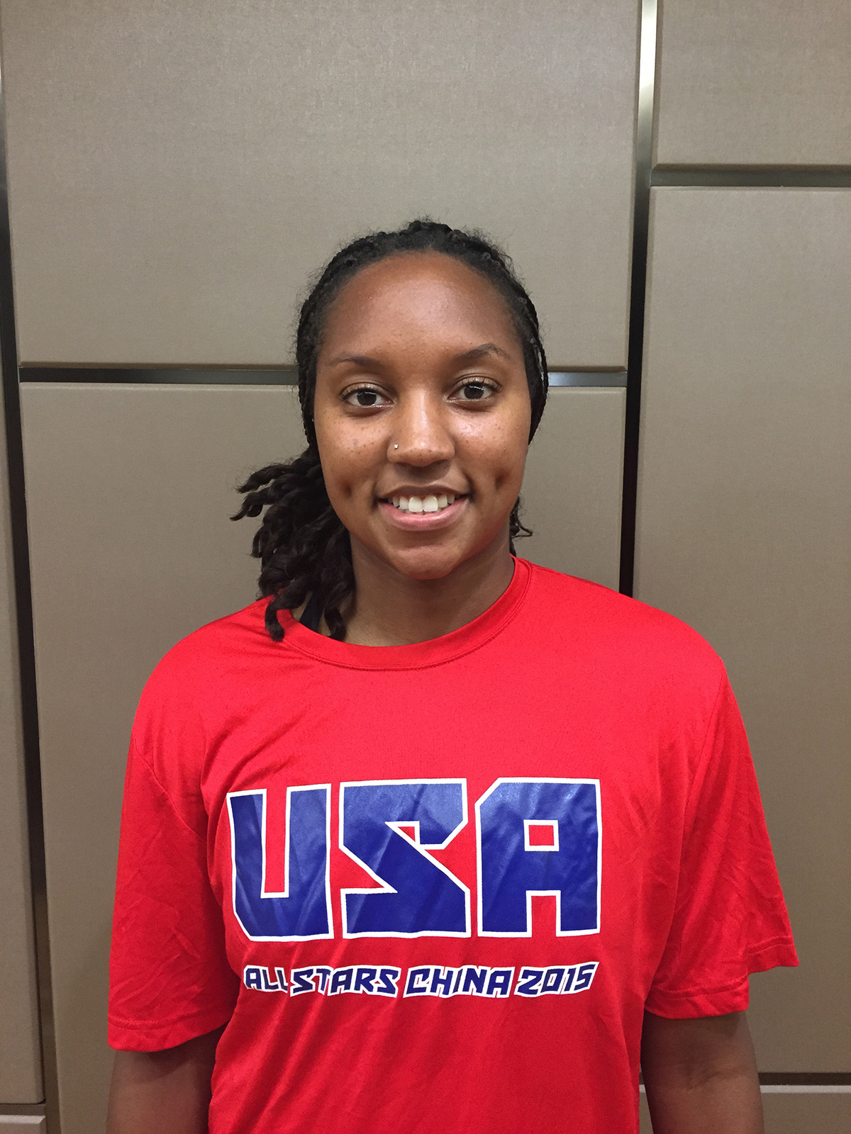 Deanna Weaver portrait for NetScouts USA All-Stars, Photo courtesy of Deanna Weaver.