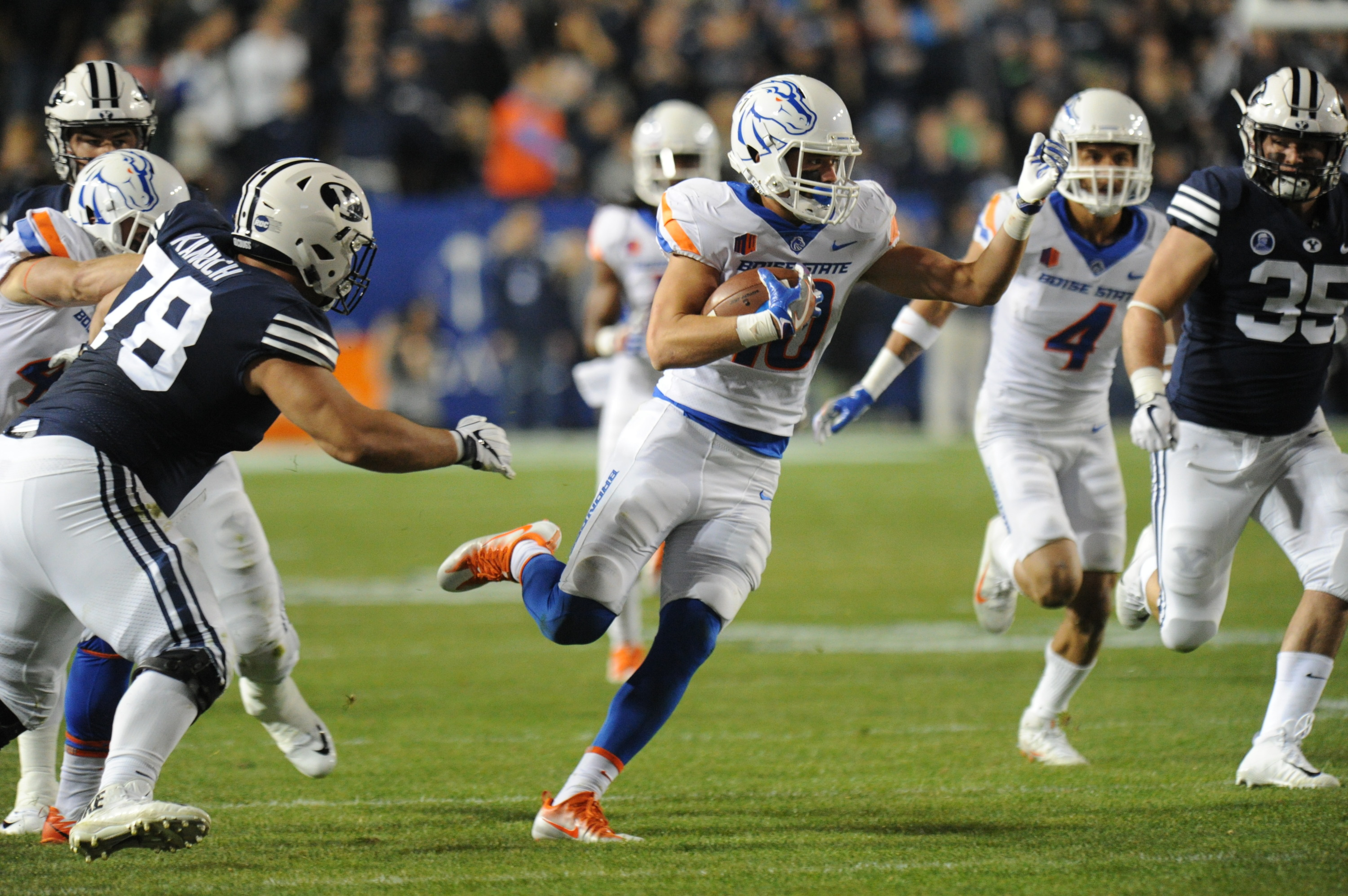 Boise State Football vs BYU, Allison Corona photo