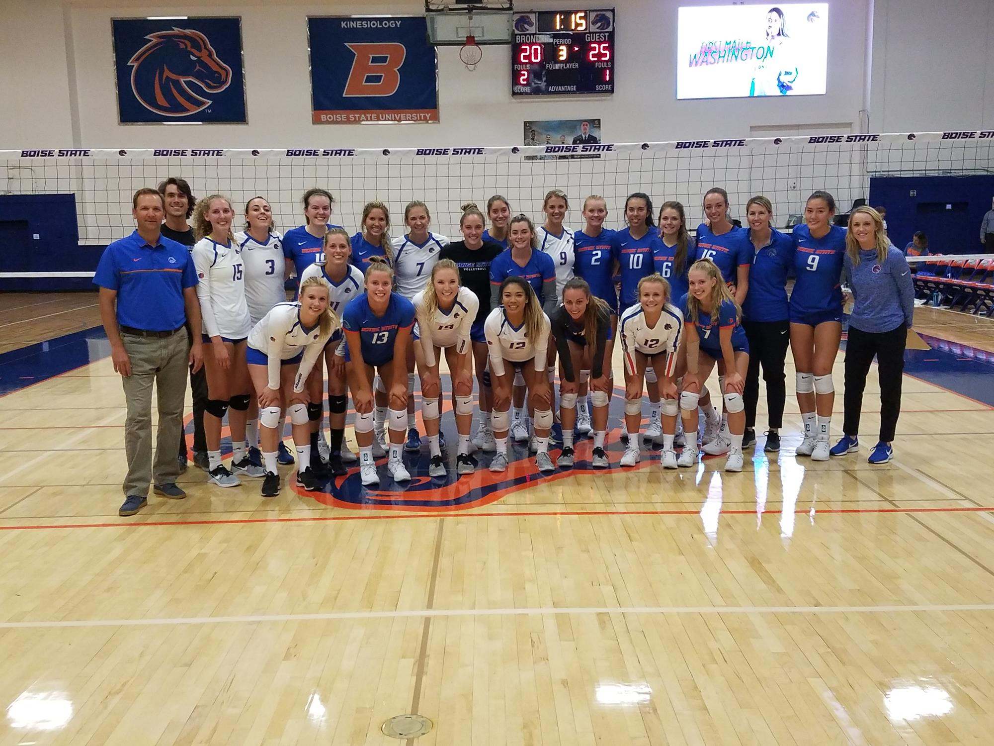 Cat Clemens Womens Volleyball Boise State University Athletics