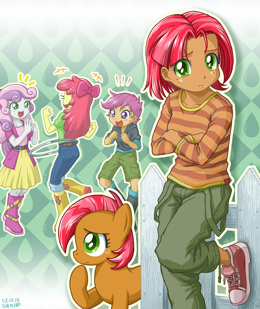 apple bloom, babs seed, scootaloo, and sweetie belle ...