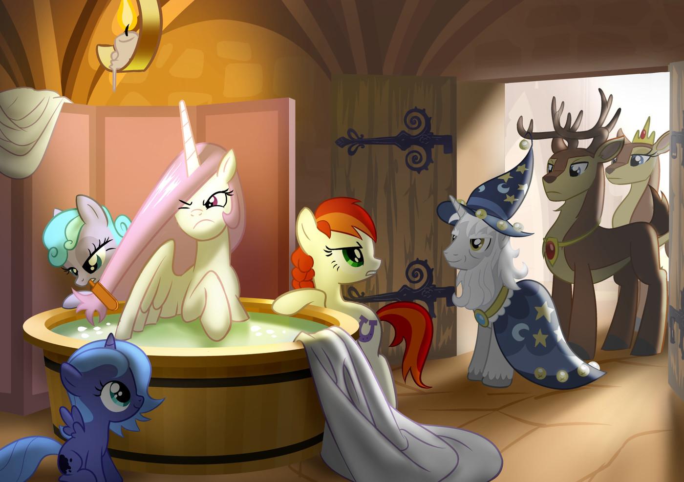 Original Character Princess Celestia Princess Luna And