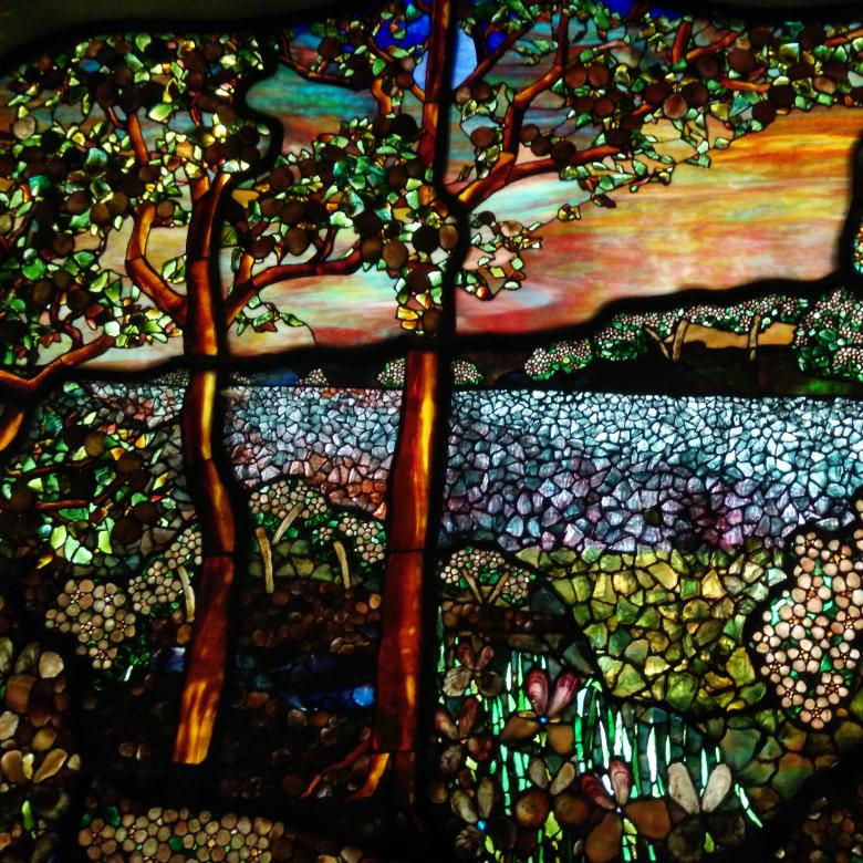 merrill glass background