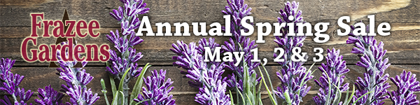 Annual Spring Sale May 1, 2 & 3