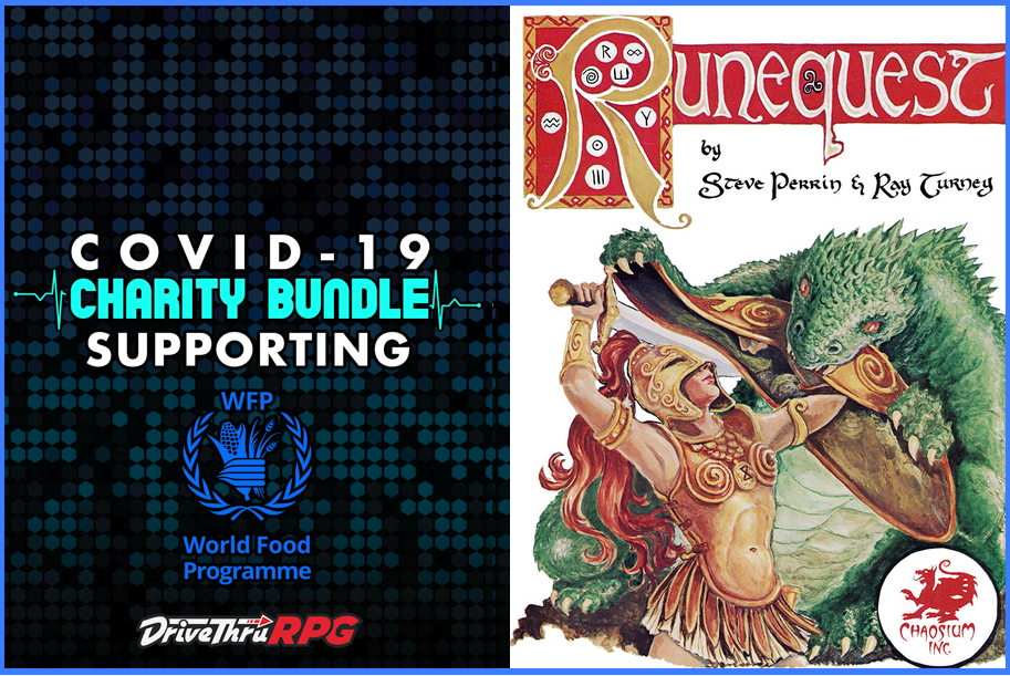 Runequest Classic Part Of Drivethrurpg S Covid 19 World Food Programme Bundle Runequest Brp Central The Chaosium Forums