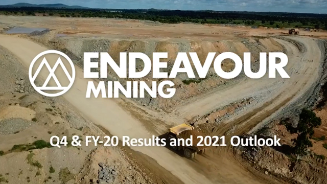 Endeavour Mining - Q4 & FY20 Results and 2021 Outlook