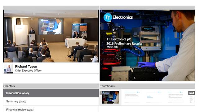 TT Electronics PLC - Half-Year Results 2017