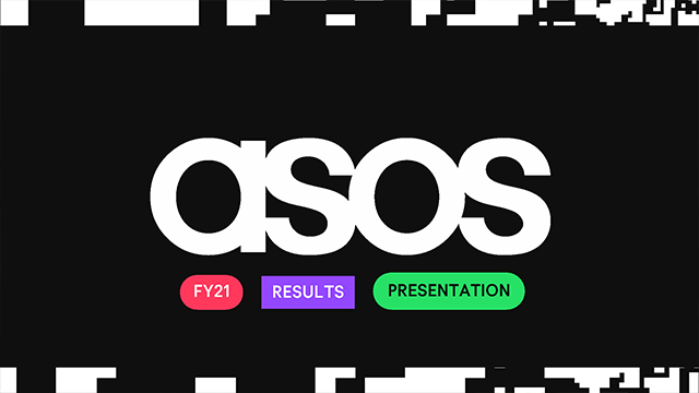 ASOS - Full Year Financial Results Analyst Presentation and Q&A