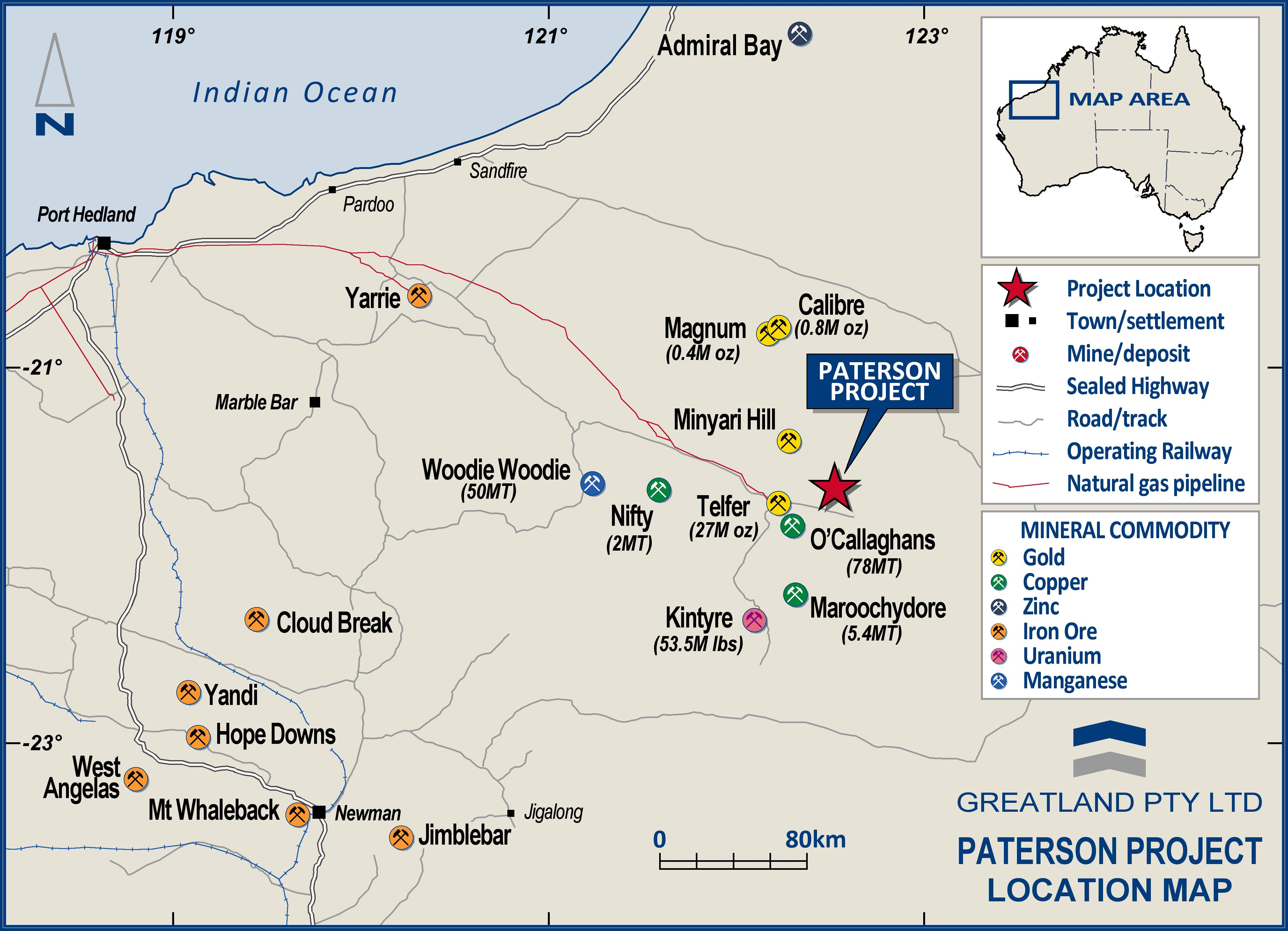Greatland Gold - Acquisition of Black Hills Gold Project