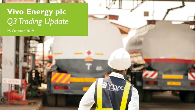Vivo Energy plc - Q3 Trading Update
