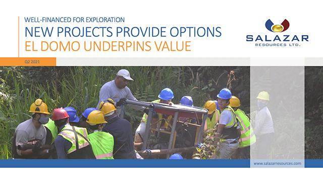 Salazar Resources - Q2 Presentation